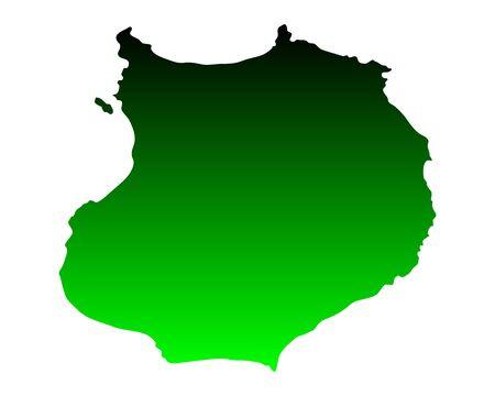 verde: Map of Boa Vista