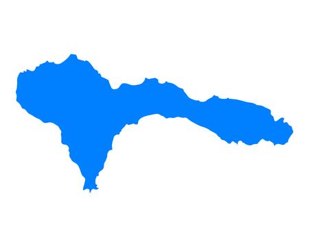 verde: Map of Sao Nicolau