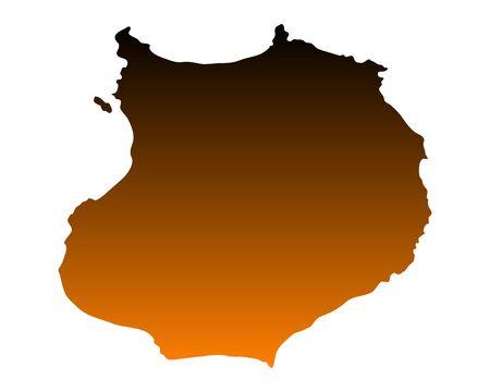 vista: Map of Boa Vista