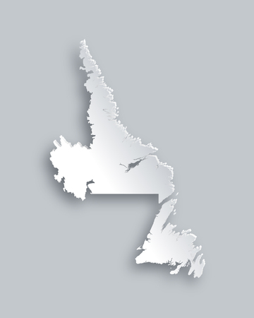 newfoundland: Map of Newfoundland and Labrador