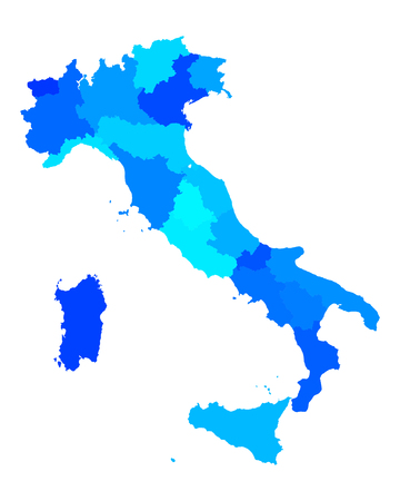 tyrol: Map of Italy