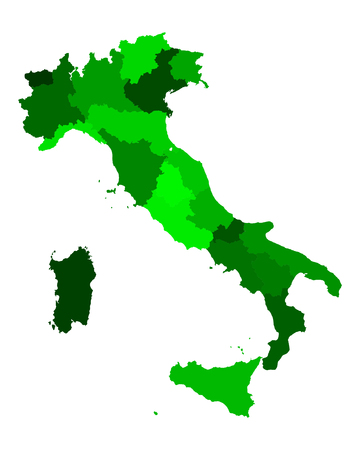 チロル: イタリアの地図