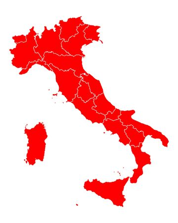 lombardy: Map of Italy