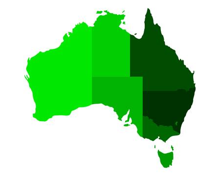 queensland: Map of Australia