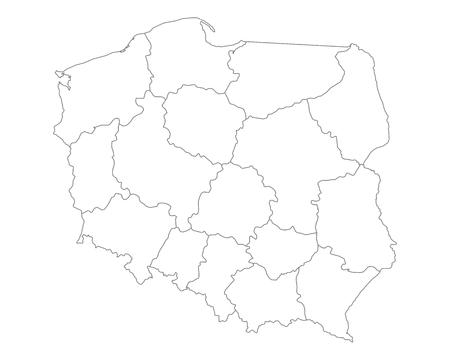 Cartina Muta Polonia.Foto Mappa Polonia Immagini E Vettoriali