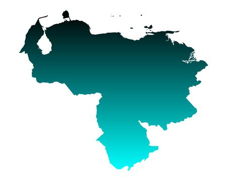 mapa de venezuela: Mapa de Venezuela