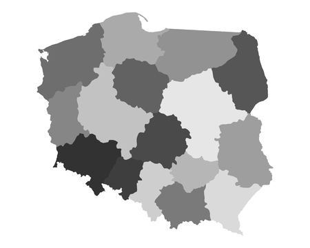 province: Map of Poland