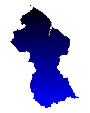 Guyana: Map of Guyana