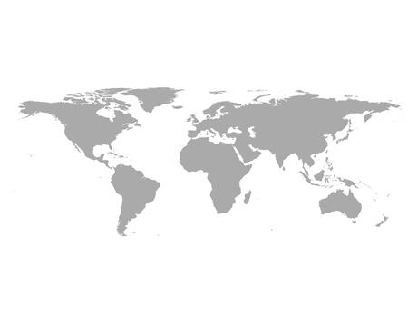 Weltkarte Standard-Bild - 43950317