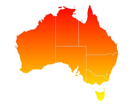 map of australia: Map of Australia