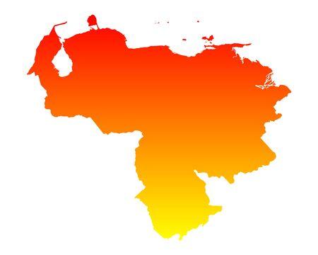 venezuela: Map of Venezuela