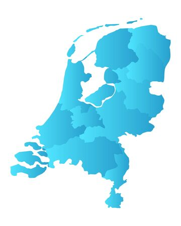 province: Map of the Netherlands