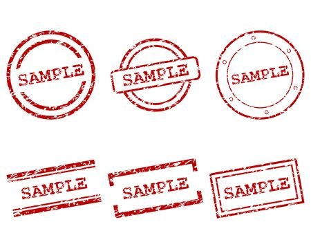 Sample stamps
