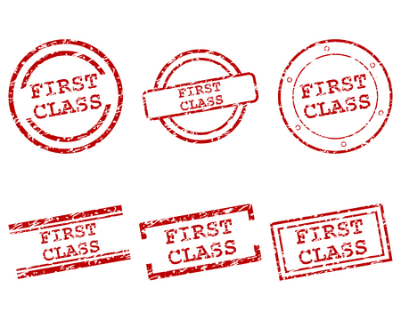 first in class: First class stamps