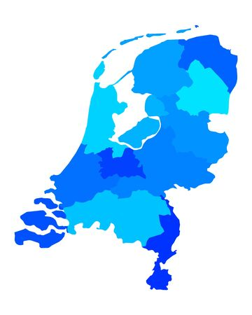 map of netherlands: Map of the Netherlands