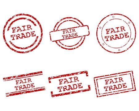 Fair-Trade-Briefmarken