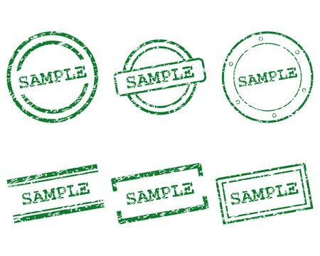 sample: Sample stamps