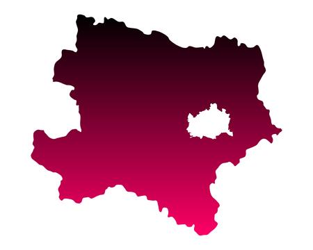 lower: Map of Lower Austria