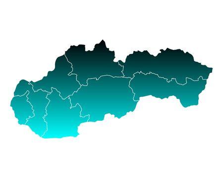 slovakia: Map of Slovakia