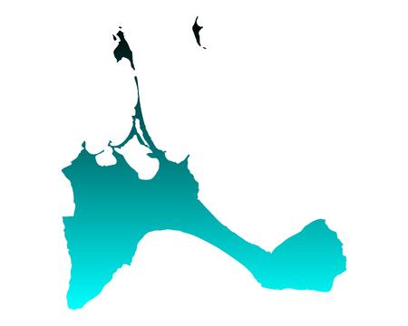 Map of Formentera