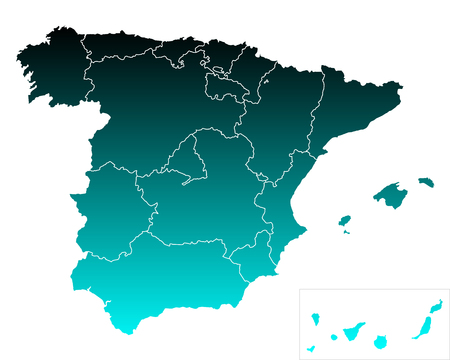 leon: Map of Spain
