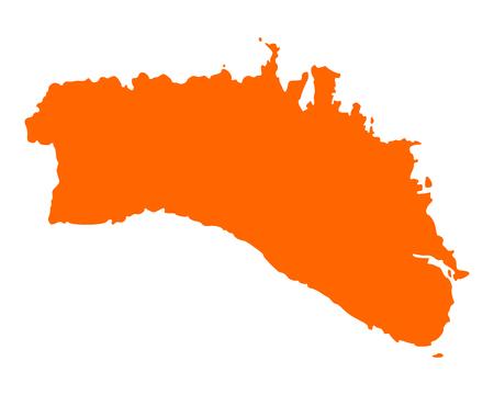 menorca: Map of Menorca