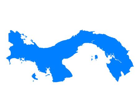 panama: Map of Panama