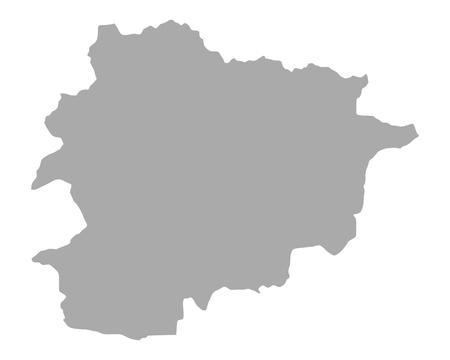 andorra: Map of Andorra