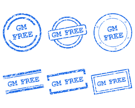 gm: GM free stamps