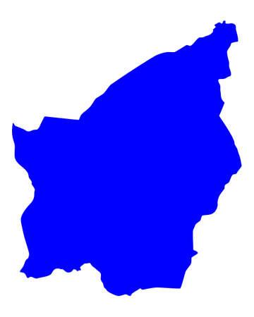 marino: Map of San Marino