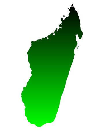 madagascar: Map of Madagascar