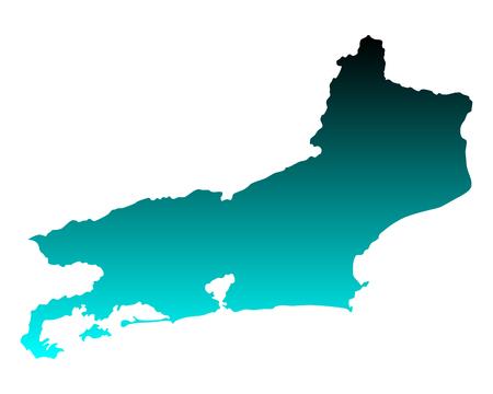 janeiro: Map of Rio de Janeiro