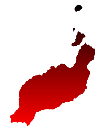 lanzarote: Map of Lanzarote