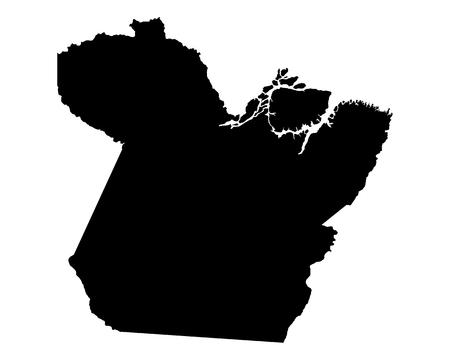 para: Map of Para