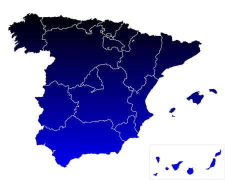 catalonia: Map of Spain