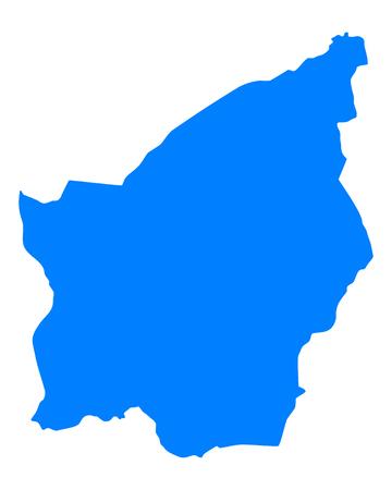 san marino: Map of San Marino