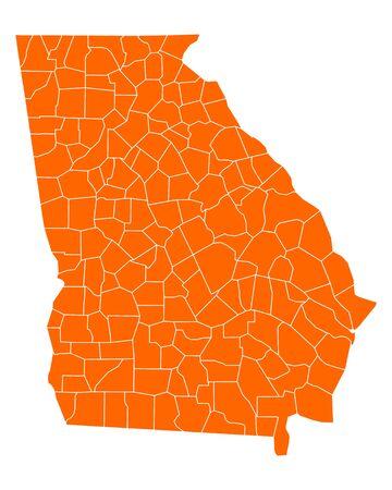 georgia: Map of Georgia