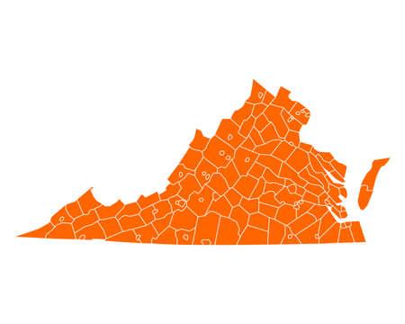 virginia: Map of Virginia