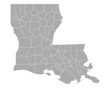 louisiana: Map of Louisiana