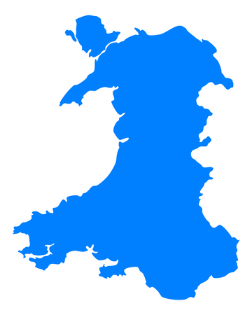 wales: Map of Wales