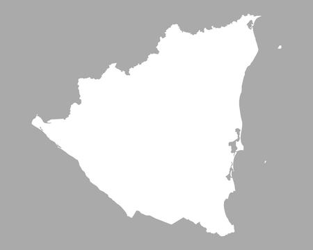nicaragua: Map of Nicaragua