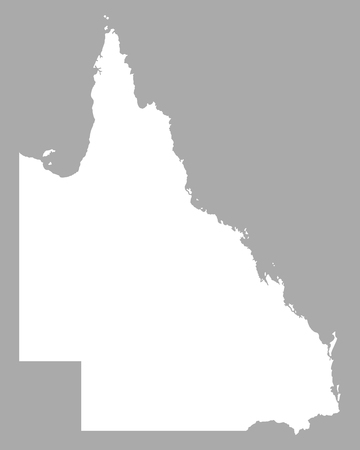 queensland: Map of Queensland