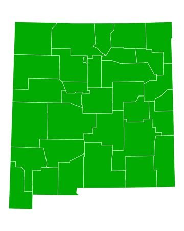 new mexico: Map of New Mexico