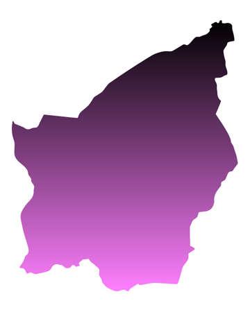 san: Map of San Marino
