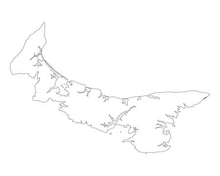 edward: Map of Prince Edward Island