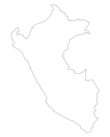mapa del peru: Mapa de Per�