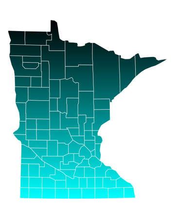 minnesota: Map of Minnesota