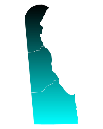 delaware: Map of Delaware