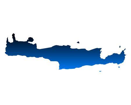 crete: Map of Crete