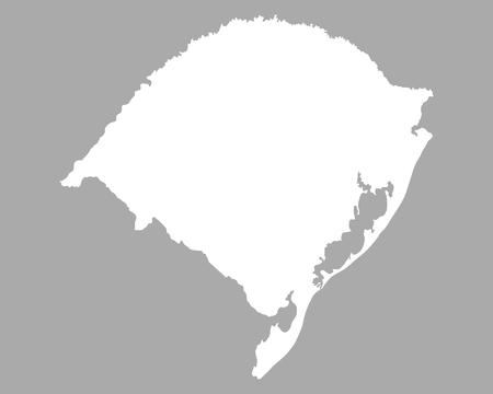 grande: Map of Rio Grande do Sul